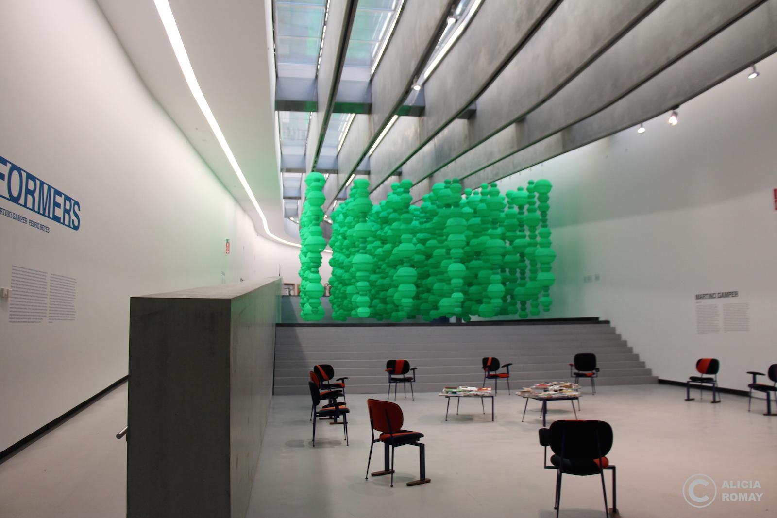 Museo super moderno romano
