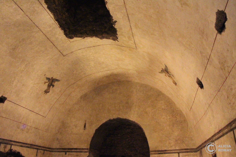 Los frescos interiores
