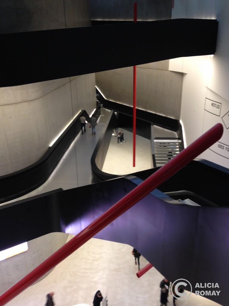El museo desde arriba