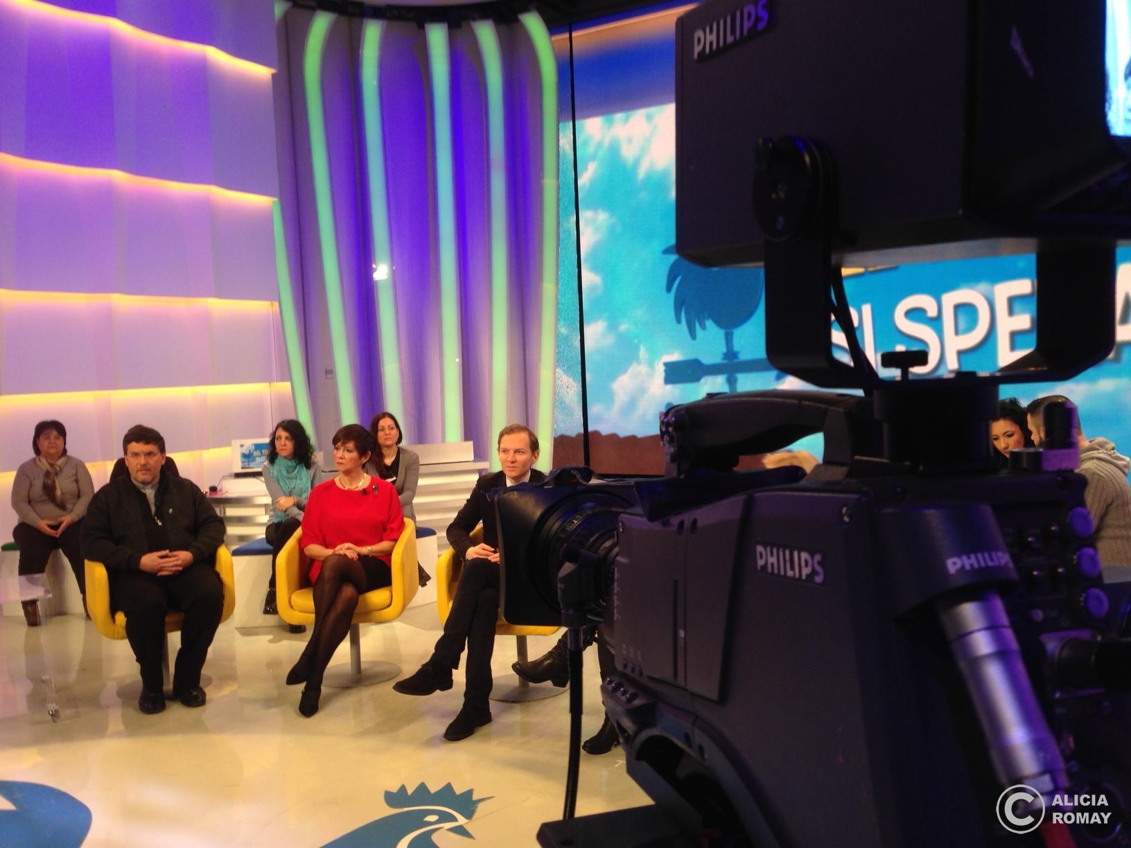 En la tele italiana