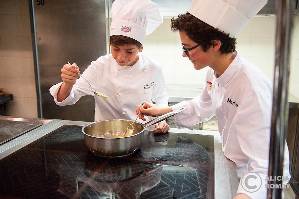 Los ganadores del Master Chef Jr. de Italia y España
